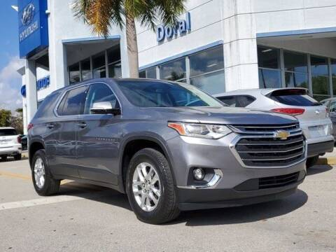 2019 Chevrolet Traverse for sale at DORAL HYUNDAI in Doral FL