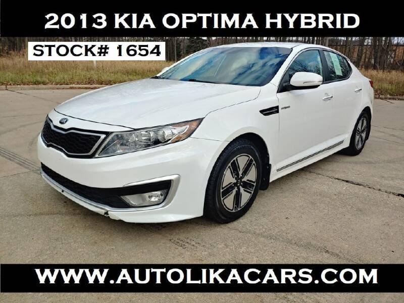 2013 Kia Optima Hybrid for sale at Autolika Cars LLC in North Royalton OH