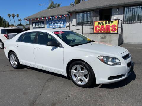 2011 Chevrolet Malibu for sale at Blue Diamond Auto Sales in Ceres CA