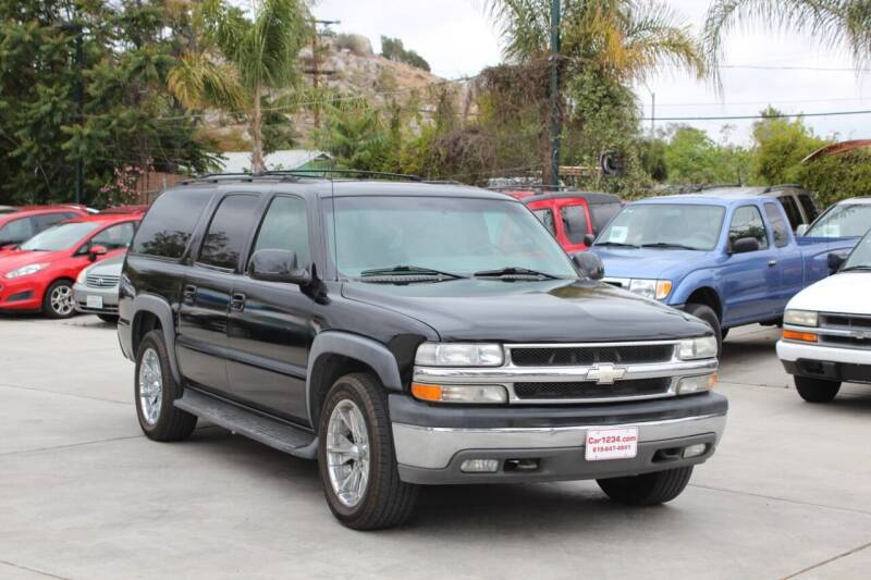 2001 Chevrolet Suburban for sale at Car 1234 inc in El Cajon CA