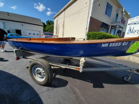 1934 Nimblet 15' Sail Boat for sale at Carroll Street Auto in Manchester NH