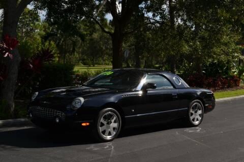 2003 Ford Thunderbird for sale at GulfCoast Motorsports in Osprey FL