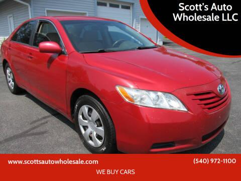 2009 Toyota Camry for sale at Scott's Auto Wholesale LLC in Locust Grove VA
