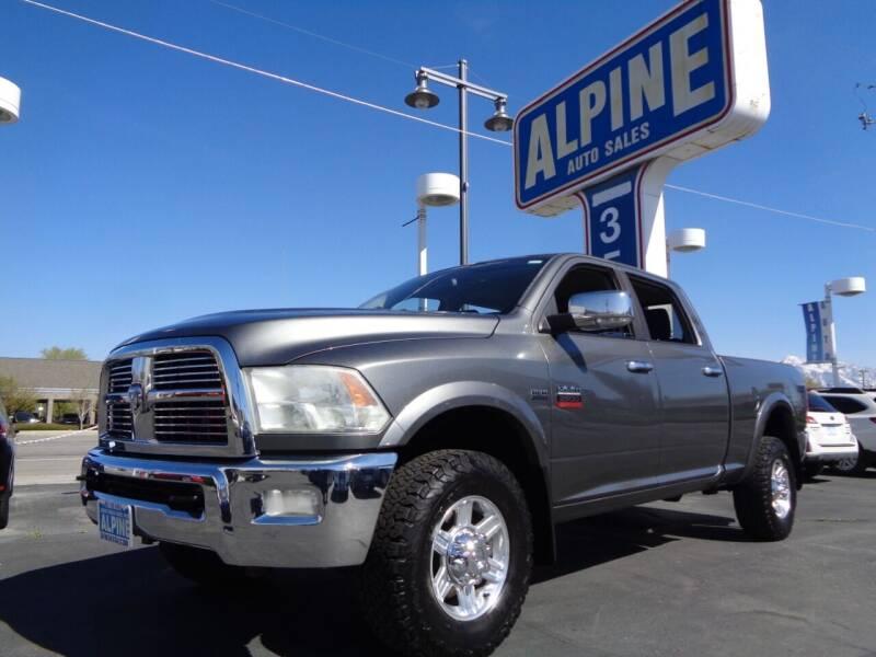 2012 RAM Ram Pickup 2500 for sale at Alpine Auto Sales in Salt Lake City UT