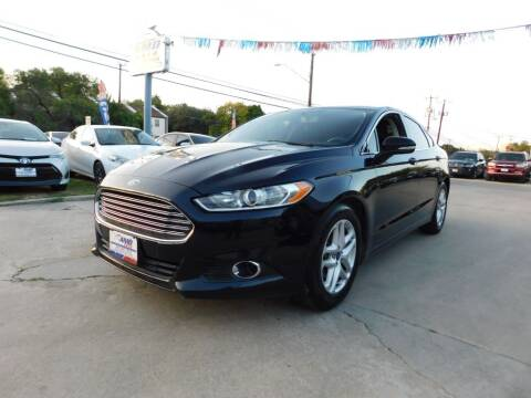 2016 Ford Fusion for sale at AMD AUTO in San Antonio TX