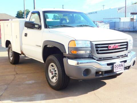 2005 GMC Sierra 3500 for sale at Dorn Brothers Truck and Auto Sales in Salem OR
