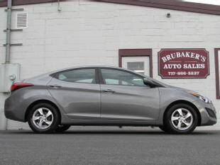 2014 Hyundai Elantra for sale at Brubakers Auto Sales in Myerstown PA