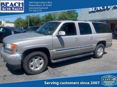2005 GMC Yukon XL for sale at Beach Auto Sales in Virginia Beach VA