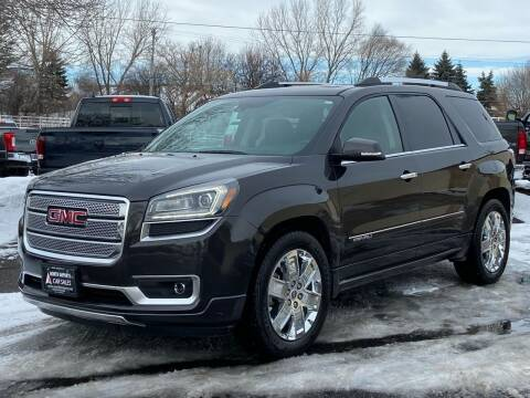 2015 GMC Acadia for sale at North Imports LLC in Burnsville MN
