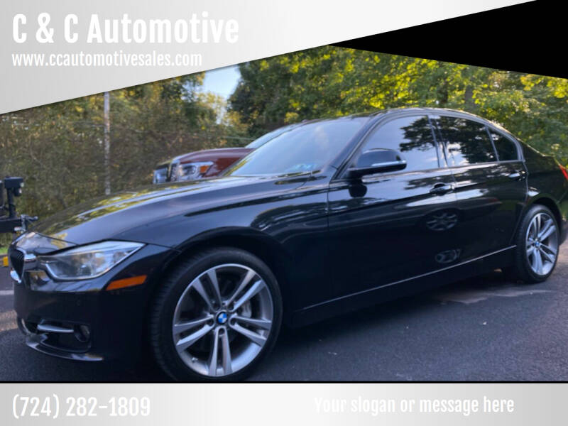 2014 BMW 3 Series for sale at C & C Automotive in Chicora PA