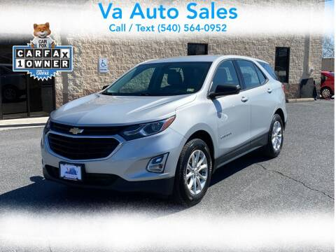 2018 Chevrolet Equinox for sale at Va Auto Sales in Harrisonburg VA
