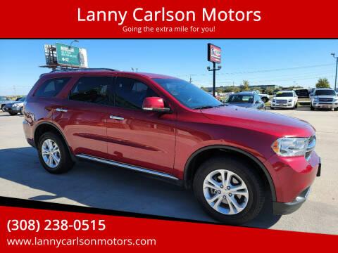 2013 Dodge Durango for sale at Lanny Carlson Motors in Kearney NE