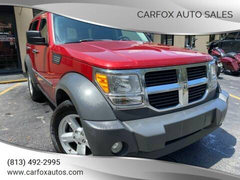 2007 Dodge Nitro for sale at Carfox Auto Sales in Tampa FL