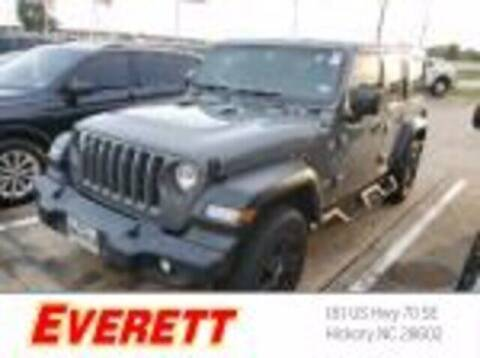 2019 Jeep Wrangler Unlimited for sale at Everett Chevrolet Buick GMC in Hickory NC