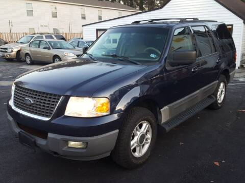 2003 Ford Expedition for sale at Premier Auto Sales Inc. in Newport News VA