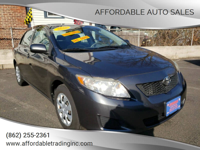 2010 Toyota Corolla for sale at Affordable Auto Sales in Irvington NJ