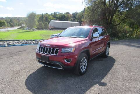 2015 Jeep Grand Cherokee for sale at Clearwater Motor Car in Jamestown NY