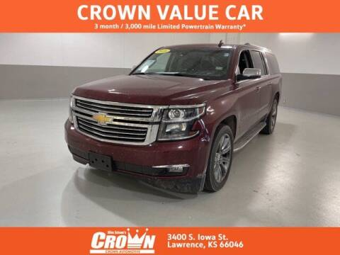 2016 Chevrolet Suburban for sale at Crown Automotive of Lawrence Kansas in Lawrence KS
