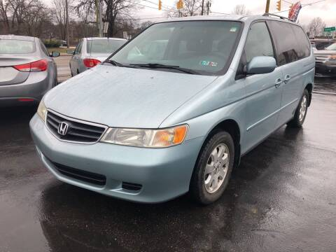 2002 Honda Odyssey for sale at PUTNAM AUTO SALES INC in Marietta OH