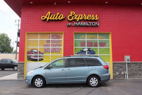 2007 Toyota Sienna for sale at AUTO EXPRESS OF HAMILTON LLC in Hamilton OH