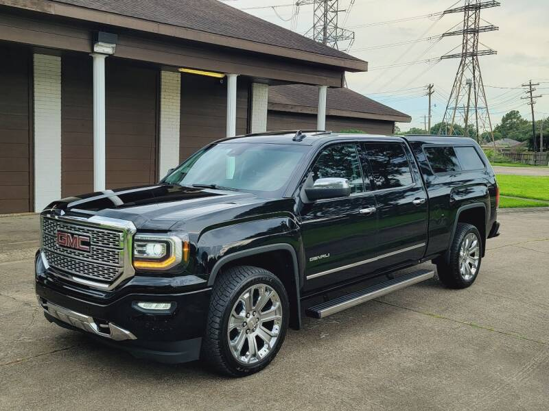 2018 GMC Sierra 1500 for sale at MOTORSPORTS IMPORTS in Houston TX