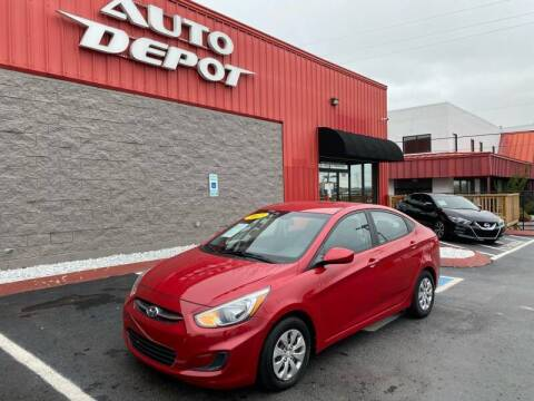 2015 Hyundai Accent for sale at Auto Depot of Madison in Madison TN