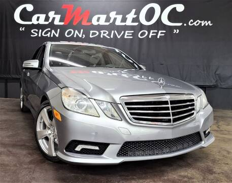 2011 Mercedes-Benz E-Class for sale at CarMart OC in Costa Mesa, Orange County CA