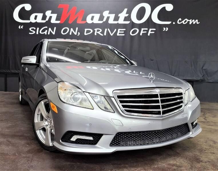 2011 Mercedes-Benz E-Class for sale at CarMart OC in Costa Mesa, Orange County CA