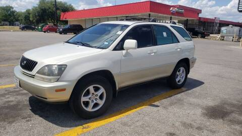 1999 Lexus RX 300 for sale at C.J. AUTO SALES llc. in San Antonio TX