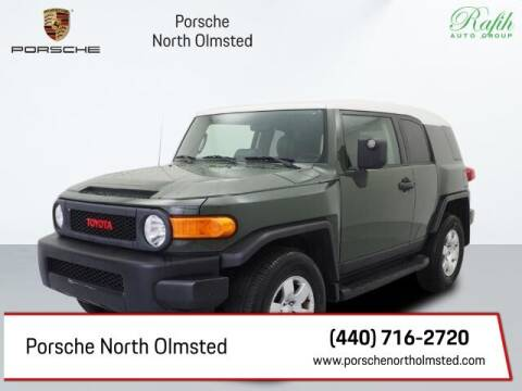 2010 Toyota FJ Cruiser for sale at Porsche North Olmsted in North Olmsted OH