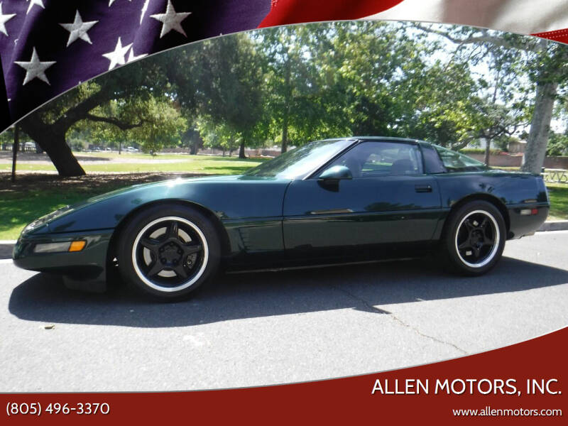 1996 Chevrolet Corvette for sale at Allen Motors, Inc. in Thousand Oaks CA