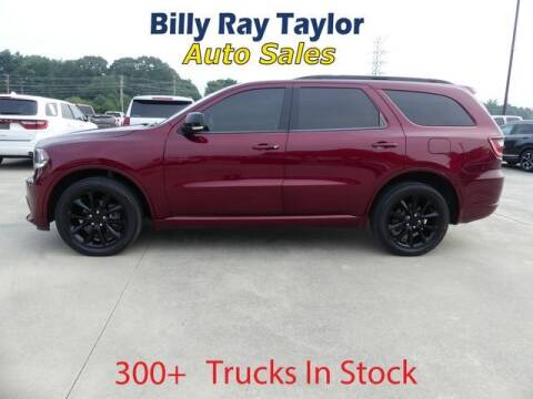 2018 Dodge Durango for sale at Billy Ray Taylor Auto Sales in Cullman AL