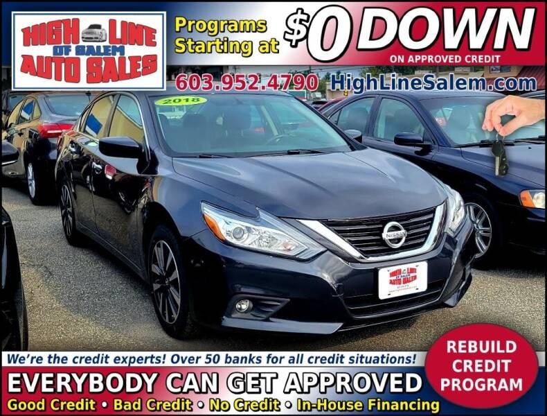 2018 Nissan Altima for sale at High Line Auto Sales of Salem in Salem NH