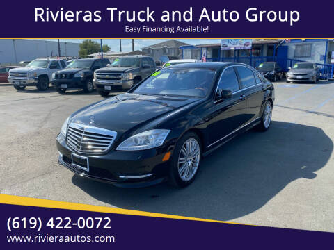 2010 Mercedes-Benz S-Class for sale at Rivieras Truck and Auto Group in Chula Vista CA