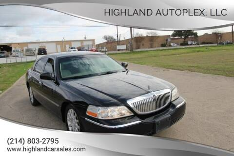 2007 Lincoln Town Car for sale at Highland Autoplex, LLC in Dallas TX