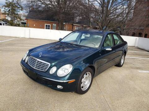 2003 Mercedes-Benz E-Class for sale at Crown Auto Group in Falls Church VA