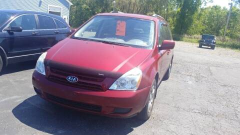 2009 Kia Sedona for sale at Pool Auto Sales Inc in Spencerport NY