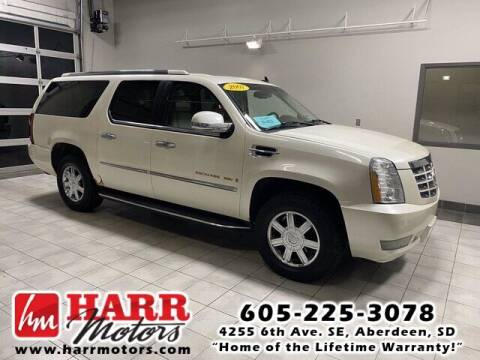 2007 Cadillac Escalade ESV for sale at Harr's Redfield Ford in Redfield SD
