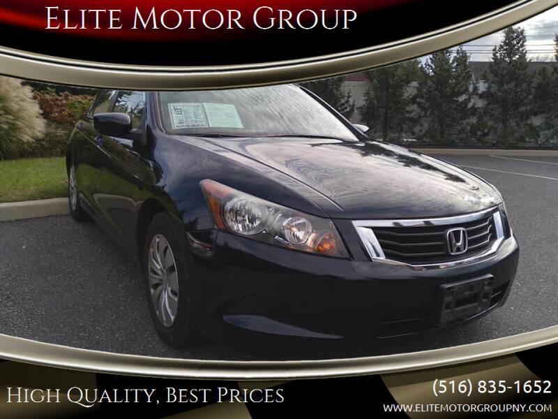 2010 Honda Accord for sale at Elite Motor Group in Farmingdale NY
