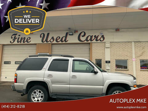 2006 Chevrolet Tahoe for sale at Autoplexwest in Milwaukee WI