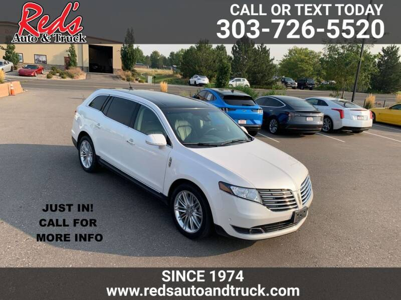 2019 Lincoln MKT for sale at Red's Auto and Truck in Longmont CO