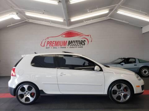 2009 Volkswagen GTI for sale at Premium Motors in Villa Park IL