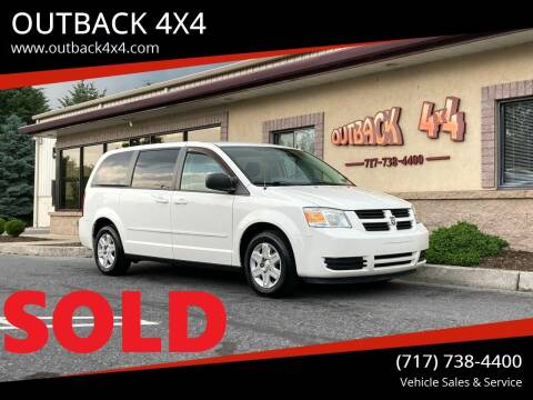 2009 Dodge Grand Caravan for sale at OUTBACK 4X4 in Ephrata PA