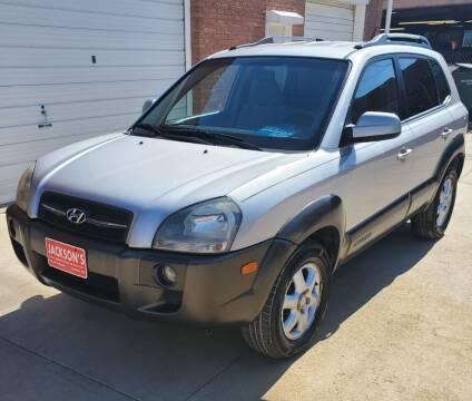 2005 Hyundai Tucson for sale at Jacksons Car Corner Inc in Hastings NE