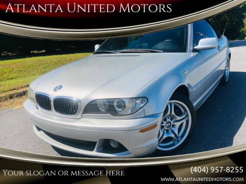 2006 BMW 3 Series for sale at Atlanta United Motors in Buford GA