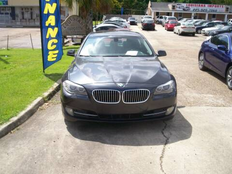 2011 BMW 5 Series for sale at Louisiana Imports in Baton Rouge LA