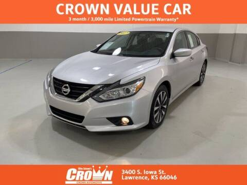 2017 Nissan Altima for sale at Crown Automotive of Lawrence Kansas in Lawrence KS