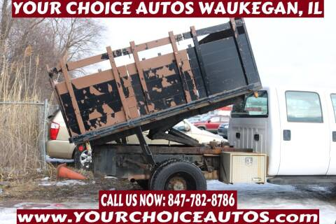 2009 Ford F-450 Super Duty for sale at Your Choice Autos - Waukegan in Waukegan IL