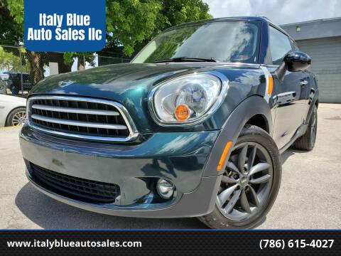 2013 MINI Paceman for sale at Italy Blue Auto Sales llc in Miami FL