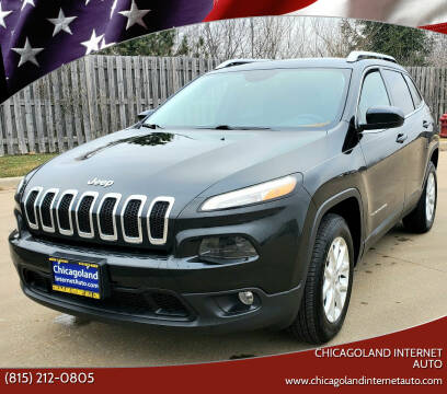 2015 Jeep Cherokee for sale at Chicagoland Internet Auto - 410 N Vine St New Lenox IL, 60451 in New Lenox IL